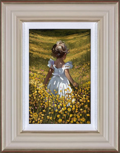 Wildflower Meadow  - Framed