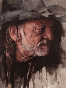 Willie Nelson - Mounted