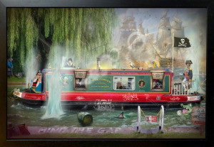 Wind In The Willows - Original - Framed