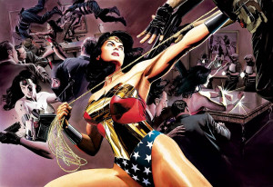 Wonder Woman: Defender Of Truth - Deluxe Canvas - Box Canvas
