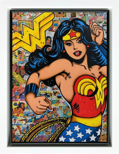 Wonder Woman - Original  - Framed
