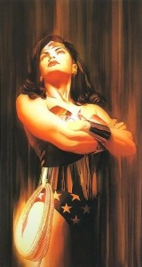 Wonder Woman - Shadows Collection - Printers Proof - Mounted