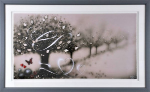 Wrapped Up In Love - Artist Proof - Framed