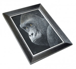 You Talking To Me - Canvas  - Framed