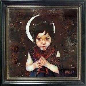 Young Pan - Framed