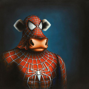 Spidermoo - Box Canvas