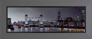 Towers Over London  - Framed