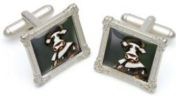 The Laughing Cowvalier - Cufflinks