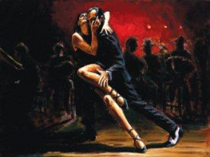 tango in red - board only
