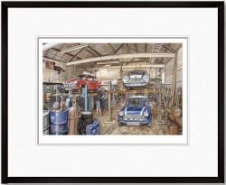 Three Of A Kind, The Italian Job - Framed