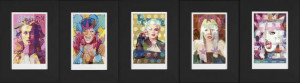 Eye Cons Portfolio Collection of 5 Editions - Mounted