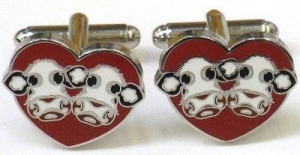 i love moo - cufflinks