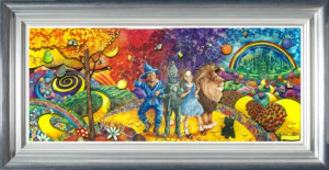 The Journey To Emerald City - Wizard Of Oz - Framed