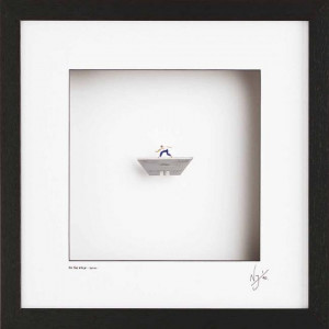 On The Edge - Wall Sculpture