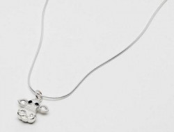 Moo - Sterling Silver Necklace (Pendant)