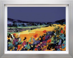 Summer Meadow - Silver Framed