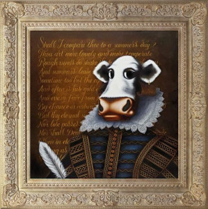 william shakespeare - framed