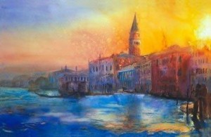 sunset over st. marks - print only