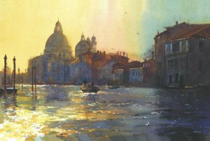 darkness & light grand canal - mounted