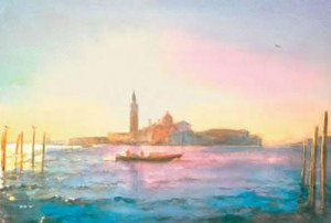 morning san giorgio - mounted