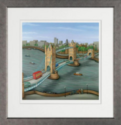 London Calling - Framed