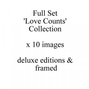 Love Counts - Full Set Of 10 Deluxe Editions - Framed
