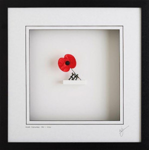 never forgotten - wall sculpture