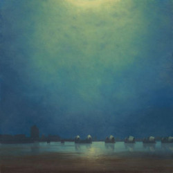 Moonlight,Thames Barrier