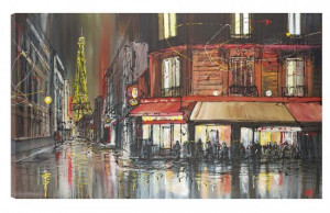 paris after dark - box canvas
