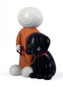 Beware Of The Dog - Large - Sculpture