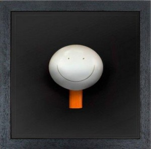 the smile (objet d'art) - framed