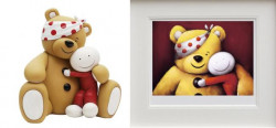 Pudsey Set - Sculpture & Print (Unframed)