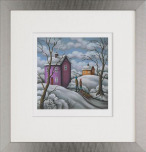 snowbound  - framed