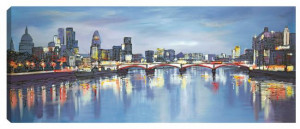 Distant Reflections - Box Canvas