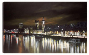 light it up london - box canvas