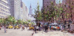 Midtown View - Boxed Canvas