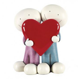 i love you this much ii - small sculpture