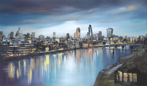 still thames - box canvas