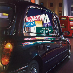 Piccadilly Reflections - Box Canvas