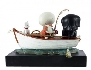 catch of the day - sculpture