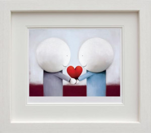 Sharing Love - Picture  - Framed
