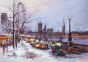 winter in westminster  - board only