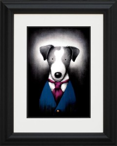 suited and booted - framed
