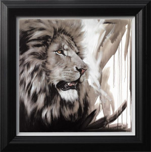lion king  - framed