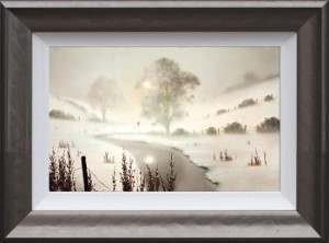The First Snowfall  - Framed