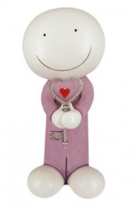 key to my heart - sculpture