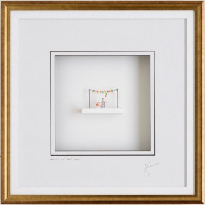 britains got talent - framed