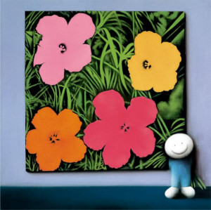 Andys Flowers - Mounted