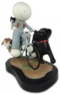 sunday riders - sculpture