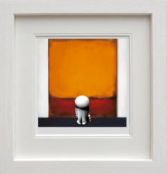 Rothkos Brushstroke of Genius - Framed